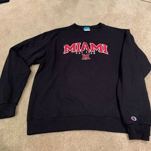 Miami of Ohio Crew Neck Sweatshirt